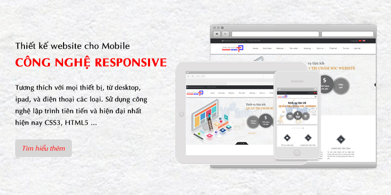 Thiết kế website cho mobile